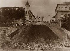 1909 - Construção do Viaduto Santa Ifigênia.