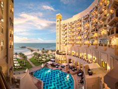 The Ajman Palace Hotel & Resort is a stunning beachfront hotel in Ajman, the United Arab Emirates. Click on the link for more information about the luxury hotel. http://www.splendia.com/en/the-ajman-palace-ajman.html#.