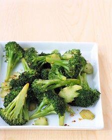 Spicy Broccoli with Garlic - Martha Stewart Recipes
