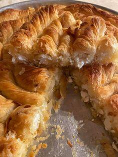 Pie Crust Recipes, Spanakopita, Greek Recipes, Shrimp, Meat, Ethnic Recipes, Food, Essen, Greek Food Recipes