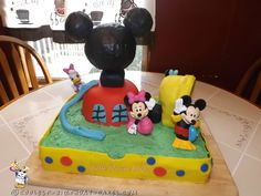Mickey Mouse Clubhouse Birthday Cake... Coolest Birthday Cake Ideas