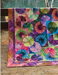 Beautiful Bali Batik Quilt Fabrics - KeepsakeQuilting.com