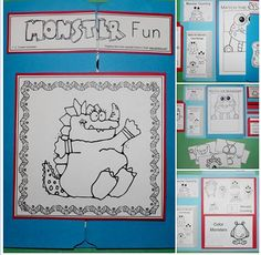 I have added a monster fun lapbook to 1 - 2 - 3 Learn Curriculum. A members preschool web site - developed by a child care provider of 29 years. To view more pictures of the lapbook please visit my facebook at https://www.facebook.com/pages/123-Learn-Curriculum/288705944555534 To learn how to become a member, please click on the picture. Thank you for viewing. Jean