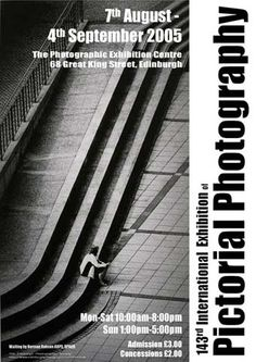 A poster for the EPS International Exhibition of Photography featuring a photo by Norman Robson, ARPS DPAGB..