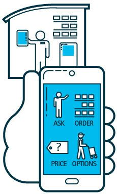 Shopping has gone very mobile according to data shown in a report about  retailers listening to 4106bb87b1