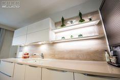 Alcove, Kitchen Cabinets, Bathtub, Studio, Bathroom, Home Decor, Houses, Standing Bath, Washroom