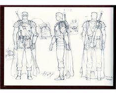 Berserk: The Movie Character Design Art Book - Anime Books