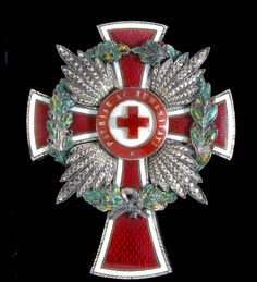 Honour Decoration of the Red Cross 1914-18, Merit Cross with War Wreath.