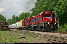 RailPictures.Net Photo: TSRR 1974 Tennessee Southern EMD GP9U at Crestview, Tennessee by Sid Vaught