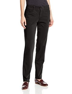 Dockers Women's Ideal Straight Leg Trouser Pant, Black, 12x32/Medium- #fashion #Apparel find more at lowpricebooks.co - #fashion