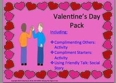 Valentine's Day Social Skills Activities Pack