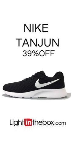 NIKE TANJUN 3 Men s Running Shoes Black White 75aa8c9294