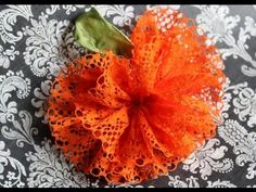 Pleasing Pumpkin Hair Bow « Make Hair Bows Now