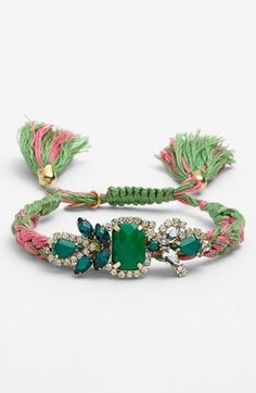 Cara Couture Adjustable Woven Bracelet available at #Nordstrom