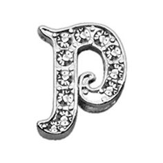 Miragepet 3/8' Clear Script Chrome Plated Czech Crystal Letter Sliding Pet Collar Charms P ** Read more  at the image link. (This is an affiliate link and I receive a commission for the sales)