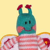 Hello I'am Avelina the butterfly! We are Pibes! We are soft, colorful and unique!    http://www.pibes.it
