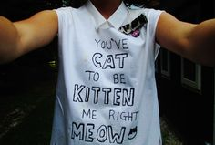 lady crazy cat