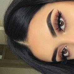 Eye Makeup Tips.Smokey Eye Makeup Tips - For a Catchy and Impressive Look Cute Makeup, Prom Makeup, Pretty Makeup, Makeup Looks, Makeup 2018, Gorgeous Makeup, Makeup Geek, Bridal Makeup, Beauty Make-up