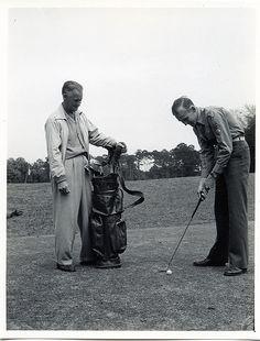Vintage golfers photo. #vintage #golf