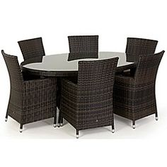 Outdoor Dining Set, Outdoor Furniture Sets, Outdoor Decor, Brown, Garden, Home Decor, Garten, Decoration Home, Room Decor