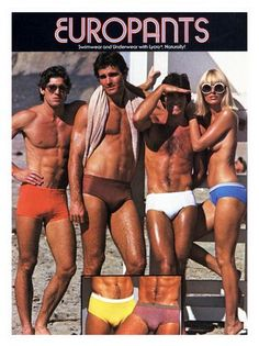 EUROPANTS!  It can only be the 70s!:)