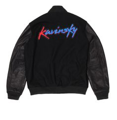 #kavinsky x #surfacetoair  #varsityjacket