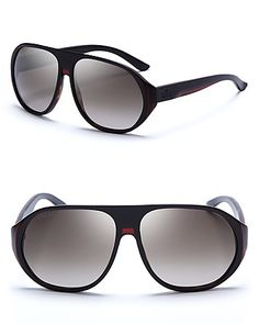 2cae31d4bb9 Gucci Acetate Shield Sunglasses Jewelry   Accessories - Sunglasses - All  Sunglasses - Bloomingdale s · Ray Ban ...