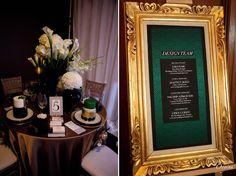 {Art Deco Glamour}-Showcased at The Original Wedding Soiree Creative Producer, Stylist & Decor: Sara Baig Designs
