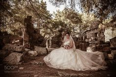 Bride in Phaselis by HgCan