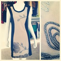 Marked down. love the details in this dress!     www.shoplaurennicole.com