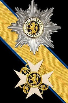 The Order of the Gold Lion of the House of Nassau (Luxembourg and The Netherlands)
