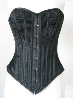 the 1890s corded corset via the dreamstress