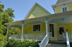 Victorian porch Sewanee Tennessee