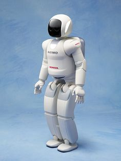 All-new ASIMO humanoid robot newly equipped with the world's first autonomous behavior control technology.