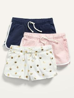 Saw this on Old Navy: Cheer Shorts, Shop Old Navy, Knit Shorts, Short Girls, Old Navy Kids, Dolphins, Gym Shorts Womens, Navy Blue, Pairs