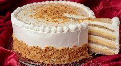 Best ever Milka cake recipe! This cake is the creamiest cake I've ever tasted adn the taste of Milka chocolate is absolutely fantastic! Torte Recepti, Kolaci I Torte, Bosnian Recipes, Croatian Recipes, Cake Cookies, Cupcake Cakes, Bake My Cake, Cookie Recipes, Dessert Recipes