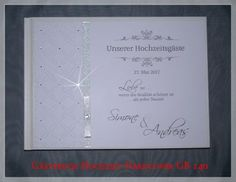 Gästebuch Hochzeit, Geschenk,Glitzer, GB 140
