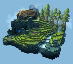 voxel art game assets - Google Search