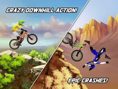 Bike Mayhem Mountain Racing 1.3.1 Apk  Android Games   Description  Downhill mountain bike racing like never before. Race down beautiful trails smashing over rocks and roots boosting huge jumps scoring insane trick combos unlocking better bikes and gear for bragging rights as the King of the Mountain!The best mobile bike game Bike Mayhem Extreme Mountain Racing! Compete in timed races or freestyle trick events on 19 different mountains and over 100 trails inspired by real world locations…