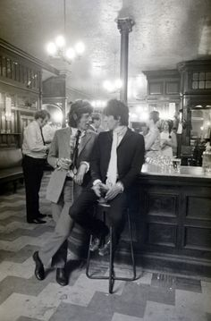 Mick Jagger & Keith Richards  ~  1960's    http://www.amazon.com/Got-Any-Kahlua-Collected-Recipes/dp/1478252650/ref=sr_1_1?s=books=UTF8=1354082873=1-1=got+any+kahlua