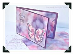 KOCreations Stampin' Up! Blog: Cards using Bokeh effect Backgrounds.