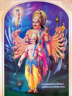 Kartavirya Arjuna or Sahastrabahu Arjuna with 1000 handshttp://www.hindudevotionalblog.com/2015/11/kartavirya-arjuna-sahastrabahu-arjuna.html