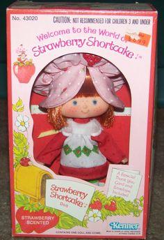 Strawberry Shortcake doll in box