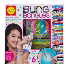 Alex Toys Bling Bangles Kit, Grey