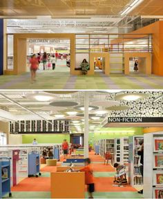 Turning an abandoned Wal-mart into an awesome (and America's largest) library. What a GREAT idea.