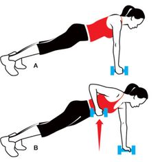 arm work out...I do this one sometimes. Its supposed to help the back fat as well.