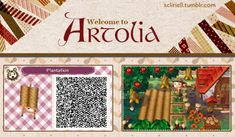 Just Animal Crossing New Leaf QR codes for paths only. Animal Crossing Qr, Pretty Cure, Acnl Pfade, Acnl Paths, Cherry Blossom Petals, Theme Nature, Garden Tiles, Motif Acnl, Ac New Leaf