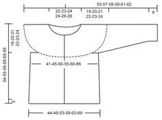 """Von oben nach unten gestrickte DROPS Jacke in """"BabyAlpaca Silk"""" mit Rundpasse, Krausrippen und Lochmuster. Größe S - XXXL. Kostenlose Anleitungen von DROPS Design."""