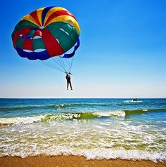 Parasailing off of Fort Walton Beach, Florida Outer Banks Vacation, Honeymoon Places, Fort Walton Beach, Parasailing, Before I Die, Adventure Awaits, Outdoor Fun, So Little Time, Dream Vacations