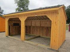 Shed Building Plans Barn Storage, Storage Shed Plans, Built In Storage, Pallet Shed Plans, 8x12 Shed Plans, Corner Sheds, Little Barn, Board And Batten Siding, Run In Shed